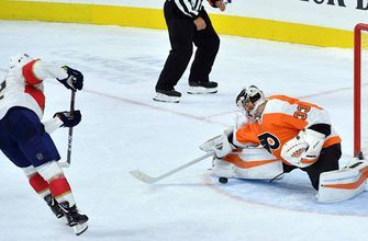 Late comeback not enough as Panthers fall to Flyers, 6-5, in shootout