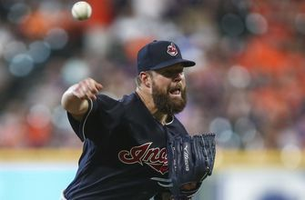 Kluber lifts Indians to 5-4 win over Astros