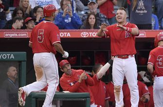 Trout, Pujols deliver for Angels in 8-4 win over Dodgers
