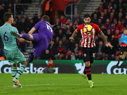 Southampton 3 Arsenal 2: Austin and Ings end Gunners' long unbeaten run