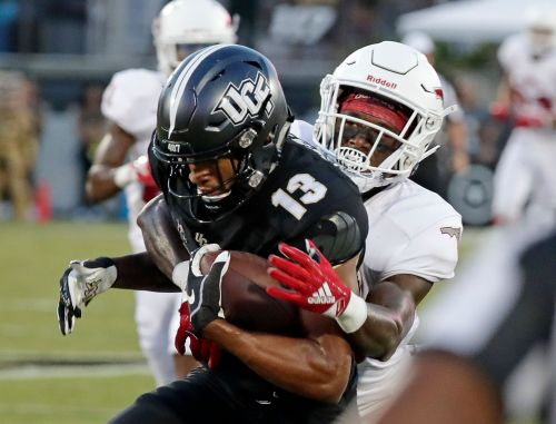 Milton accounts for 6 TDs, No. 16 UCF routs FAU 56-36
