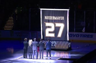 Scott Niedermayer Jersey Retirement: 27 goes into the rafters of Honda Center