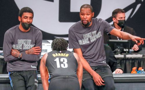 Kevin Durant picks Kyrie Irving, James Harden to be on his NBA All-Star team