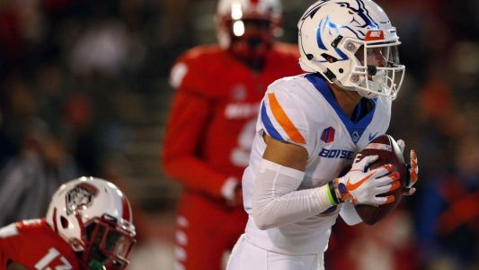 College football: Modster has three touchdown catches, No. 23 Boise State tops New Mexico 45-14