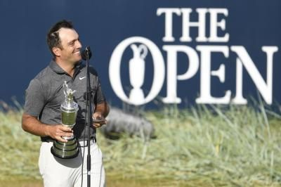 Watch: Francesco Molinari lifts Claret Jug for Italy's first major at 2018 British Open