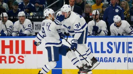 Leafs get back on track with convincing win over Sabres