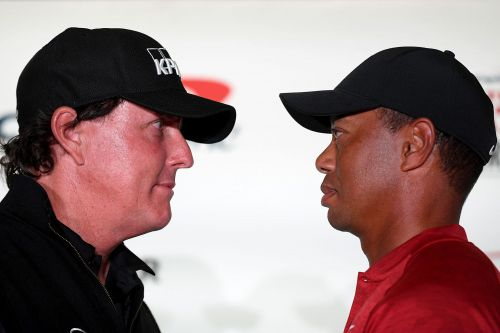 Tiger, Phil lay down $200K bet on opening hole of 'The Match'