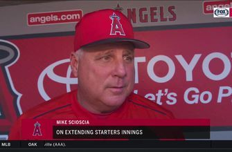 Mike Scioscia says Angels starters will have chance to pitch deeper into games