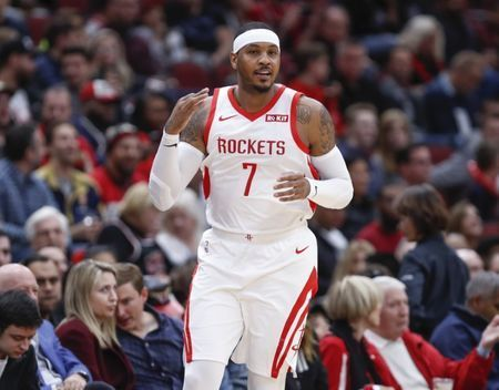 NBA notebook: Anthony to leave Rockets