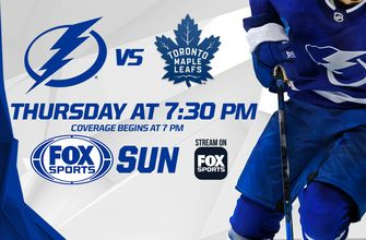 Preview: Powerhouses clash as divisional foes Lightning, Maple Leafs face off