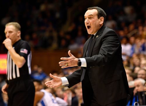 Mike Krzyzewski yells at Duke student section to 'shut up' after Jeff Capel chant