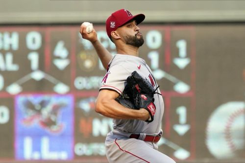Sandoval has no-hit bid end in 9th; Angels beat Twins 2-1