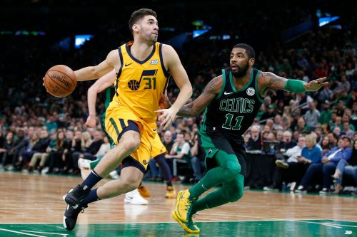 Mitchell scores 28, Jazz beat Celtics 98-86