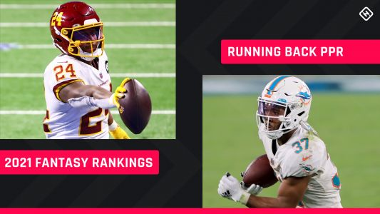 Fantasy Football RB PPR Rankings 2021: Best running backs to draft, sleepers to know
