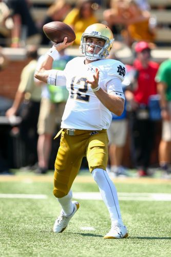 Brian Kelly makes the smart move in Notre Dame's quarterback switch to Ian Book