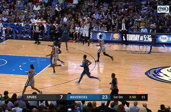 HIGHLIGHTS: Patty Mills Hits the Open Three in the 1st