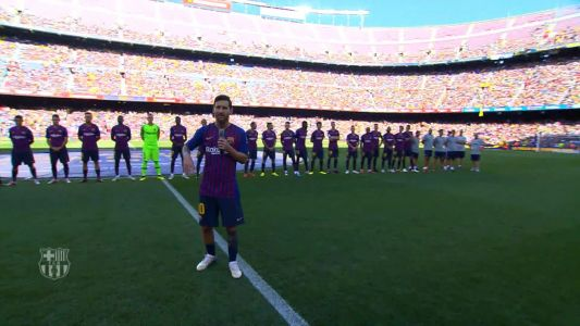 I know what it means to be Barcelona captain - Messi