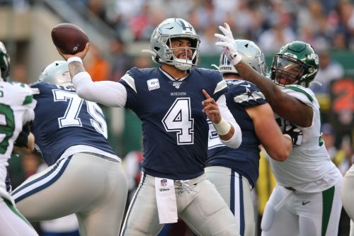 Ideal time to lose three? Cowboys QB Dak Prescott's 'weird way of looking at things'