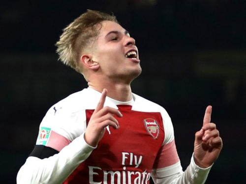 Smith Rowe had no problem shunning Barcelona as Arsenal are 'the right club'
