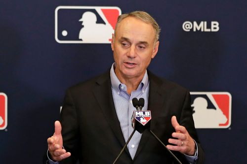 Rob Manfred is going all-in on a baseball pitch clock