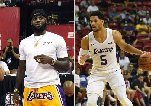 LeBron sends congrats to Lakers' Josh Hart