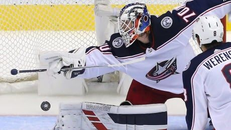 Blue Jackets give nod to Korpisalo over Merzlikins in goal for series finale vs. Leafs