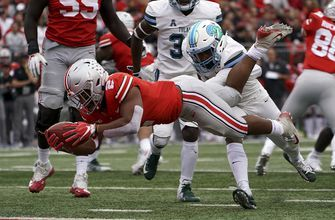 No. 4 Ohio State tallies 570 yards in 49-6 blowout of Tulane