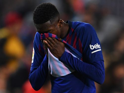 Valverde admits to Dembele gamble as Barcelona lose winger to hamstring tear