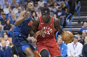 Siakam has 33 and 13 as Raptors hold off Thunder in OT