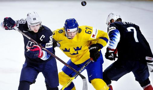 Sweden crushes U.S. in 6-0 win to play for gold in IIHF Ice Hockey World Championships