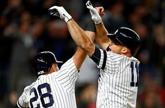 Brett Gardner belts clutch grand slam for 100th career home run