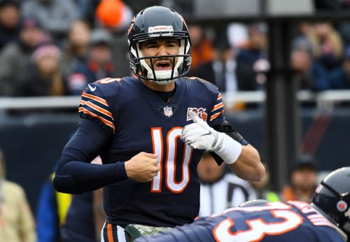 Bears GM Ryan Pace declares 'open competition' for starting QB between Nick Foles, Mitchell Trubisky