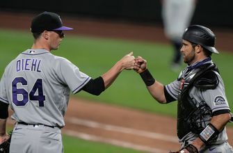 Rockies throw a combined one-hit shutout, beat Mariners 5-0 improving to ML Best 11-3
