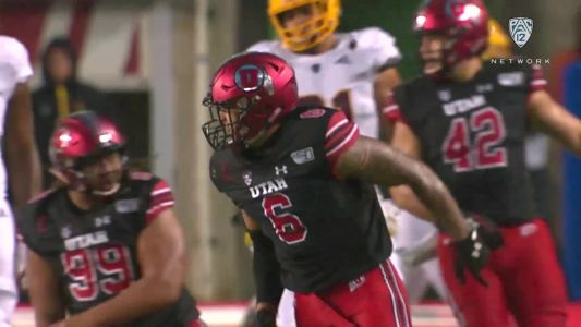 Bradlee Anae breakdown: Utah DE gives 'everything he's got' on game day