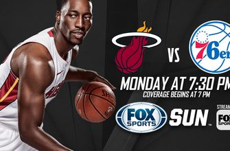 Preview: Heat host 76ers in rematch of last season's 1st-round playoff series