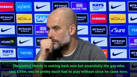 Guardiola wants long-term cover for injury-prone Mendy
