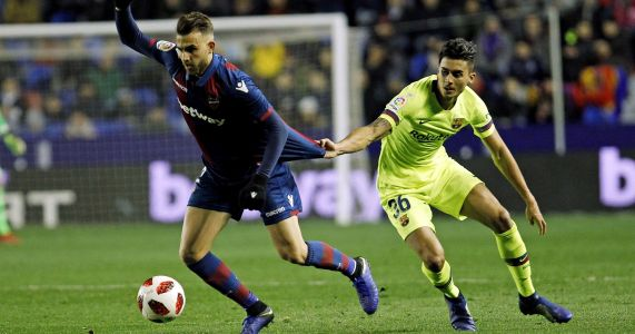 Levante complains Barcelona used ineligible player