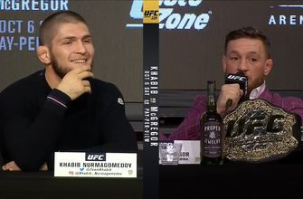 Conor McGregor thinks Khabib Nurmagomedov has a glass jaw
