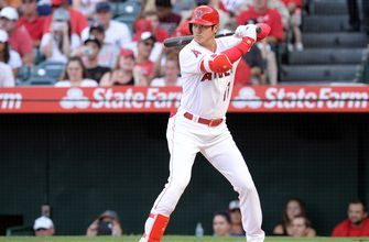 Take a look at moments from Saturday night's action: Angels vs. Astros