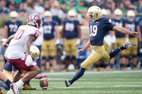 From clueless about football to kicking at Notre Dame: a journey from South Korea