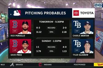 Charlie Morton heads to the hill looking to help Rays pull even with Red Sox in series