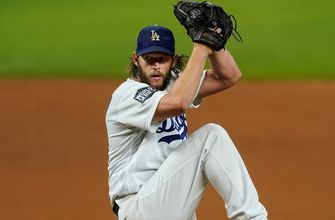 Clayton Kershaw reverses playoff narrative, strikes out eight in Game 1 of the World Series