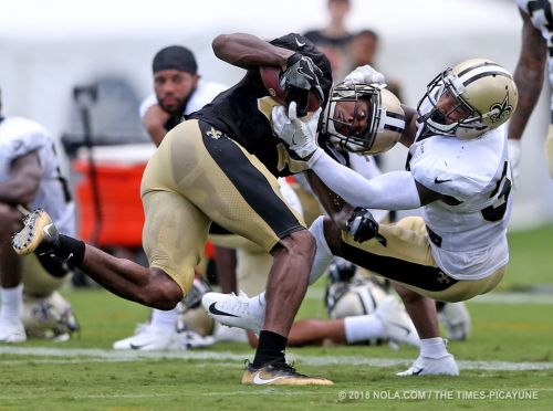 Young cornerbacks making a move: What happened at Saints training camp Day 18