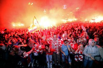 Despite off-field chaos, limited resources, Croatia in final