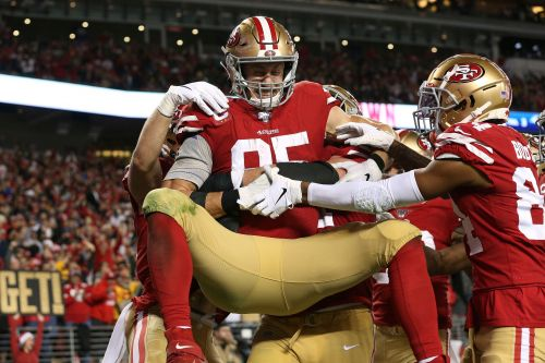 George Kittle agrees to five-year, $75 million contract with San Francisco 49ers