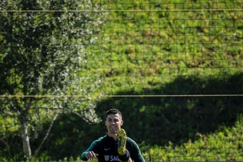 Ronaldo joins Portugal camp for Euro 2020 qualifiers