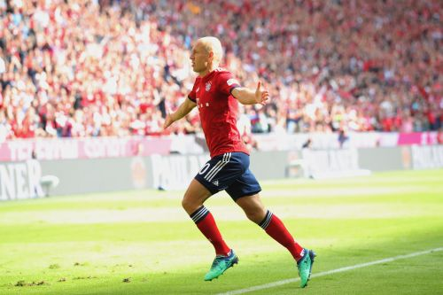 Arjen Robben's sumptuous volley against Leverkusen