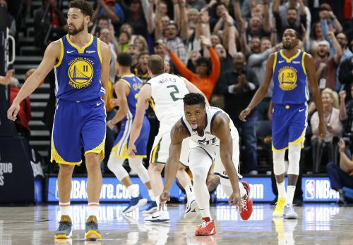 Offensive explosion not enough as Jazz fall to Warriors 124-123 in home opener