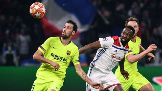 Barcelona play to goalless draw at Lyon in Champions League match
