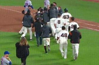 San Francisco Giants walk-off Mets in 16th inning